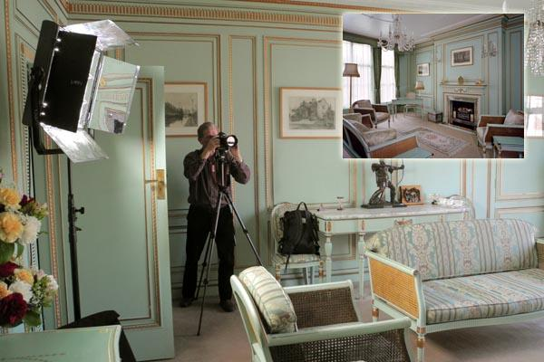 Photographing historic interiors